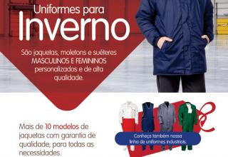 Jaquetas de inverno já estão disponíveis na Pele Crua